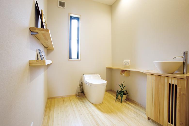ナチュラルな空間のデザイン注文住宅