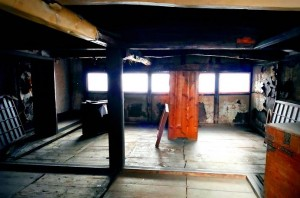 豊前街道 きしゃぽっぽ キッコーヤ 醤油蔵 屋根裏